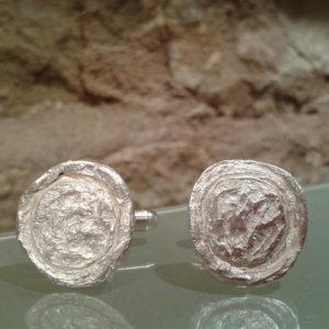 gemelos born plata hechos a mano