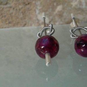 pendientes volutas agata barcelona joyas