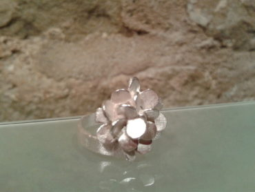 anillo graduable pieza plata moartespai